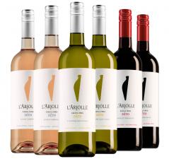 Pakket L'Arjolle Zéro (3x2 flessen)