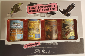 Boutique whisky company miniaturen