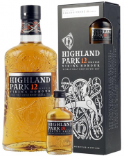 Highland Park 12 yrs V.H. incl mini18 yrs Viking Pride