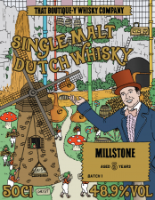 Millstone Boutique whisky 6 yrs old