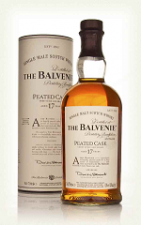 The balvenie 17 yrs peated cask tube