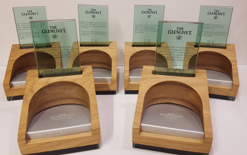 The Glenlivet plinth