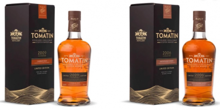 Tomatin Duo Set Rum & Sherry