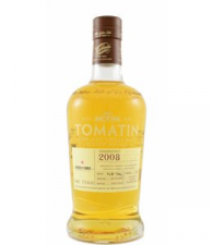Tomatin Single Cask 2008 Bresser en Timmer 25 th anniversary