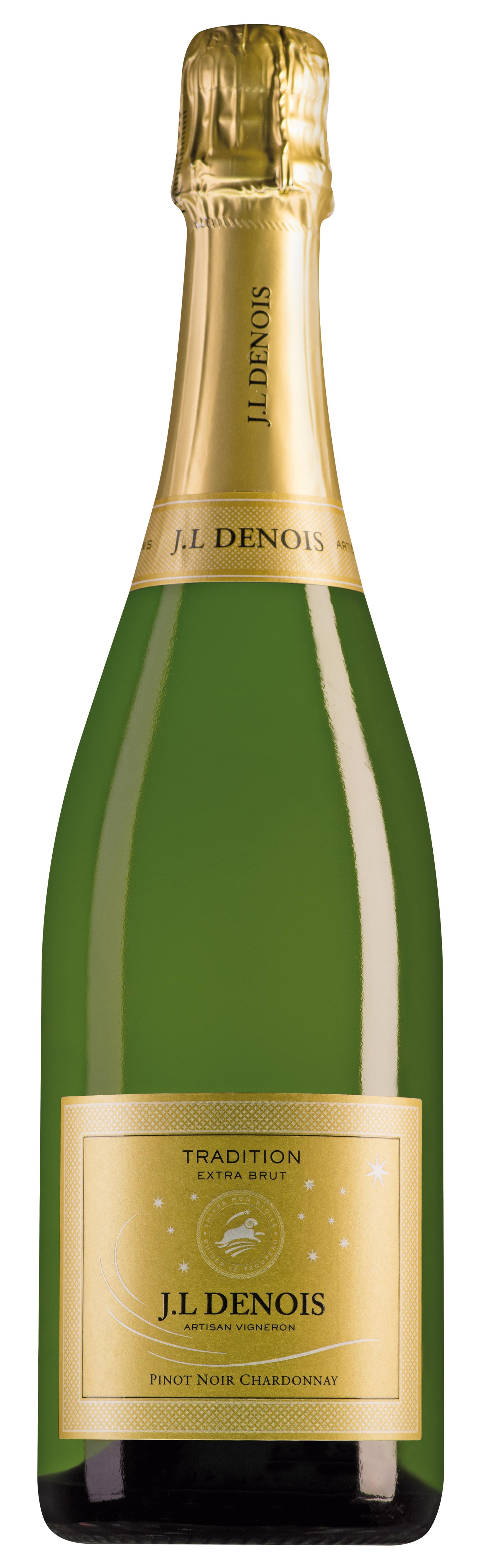 Jean-Louis Denois Chardonnay-Pinot Noir Tradition Extra Brut