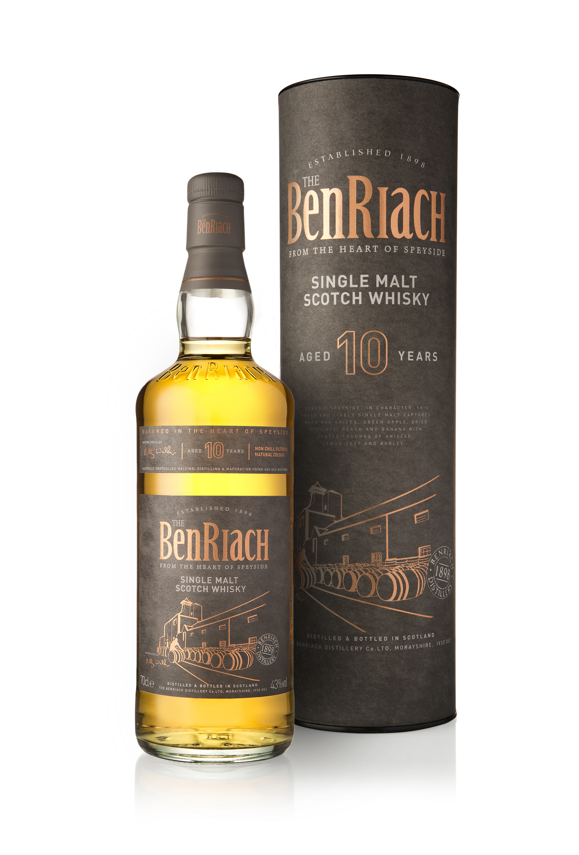 Benriach 10 yrs old Tube