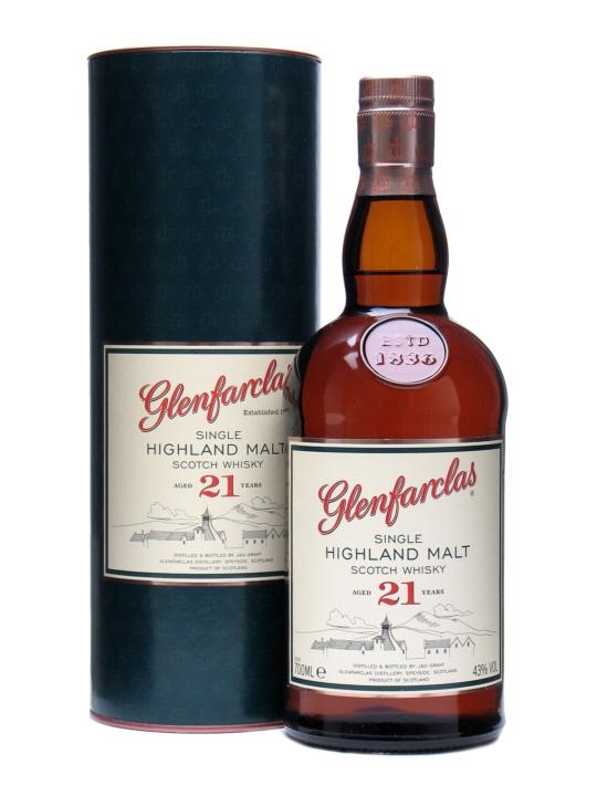 Glenfarclas 21 yrs old