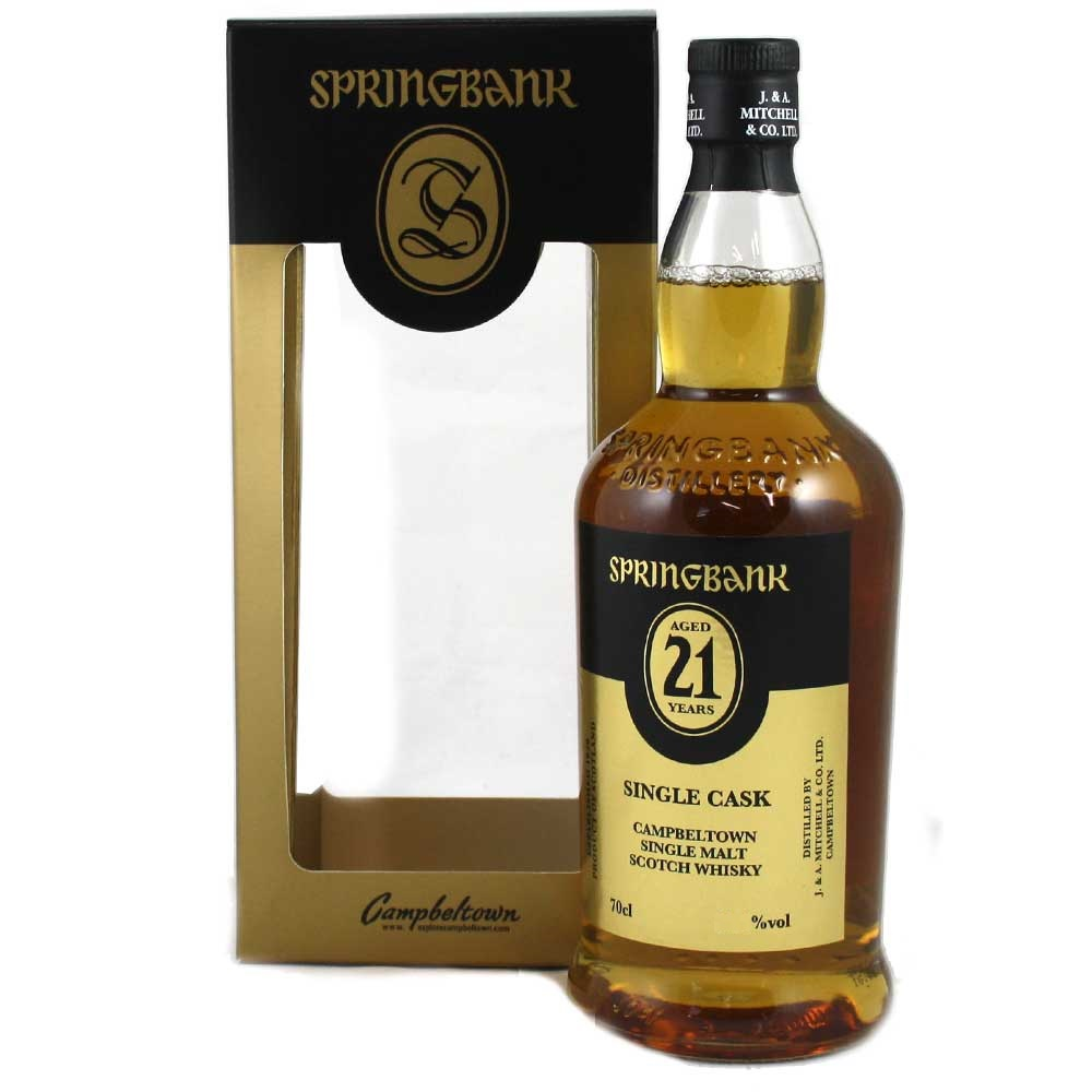Springbank 21 yrs old Tube