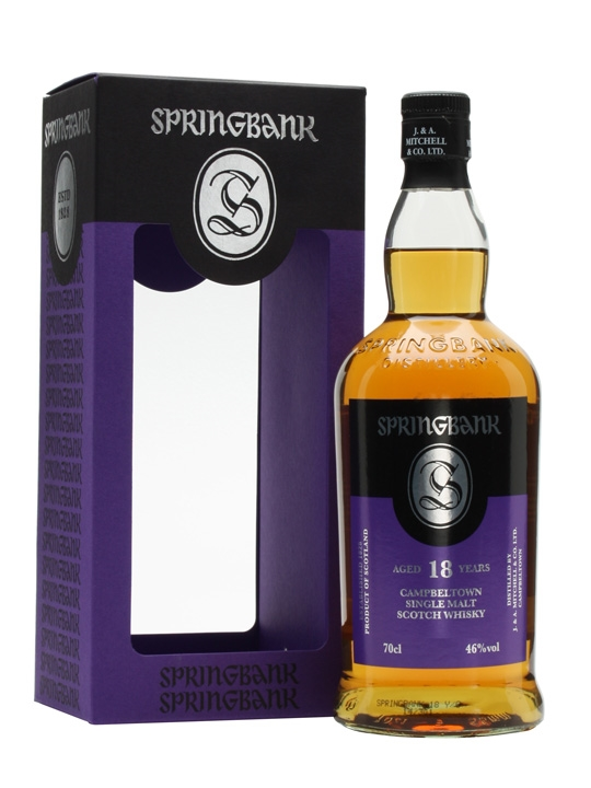Springbank 18 yrs old