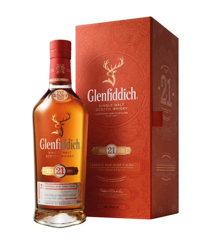 Glenfiddich 21 yrs Rum cask