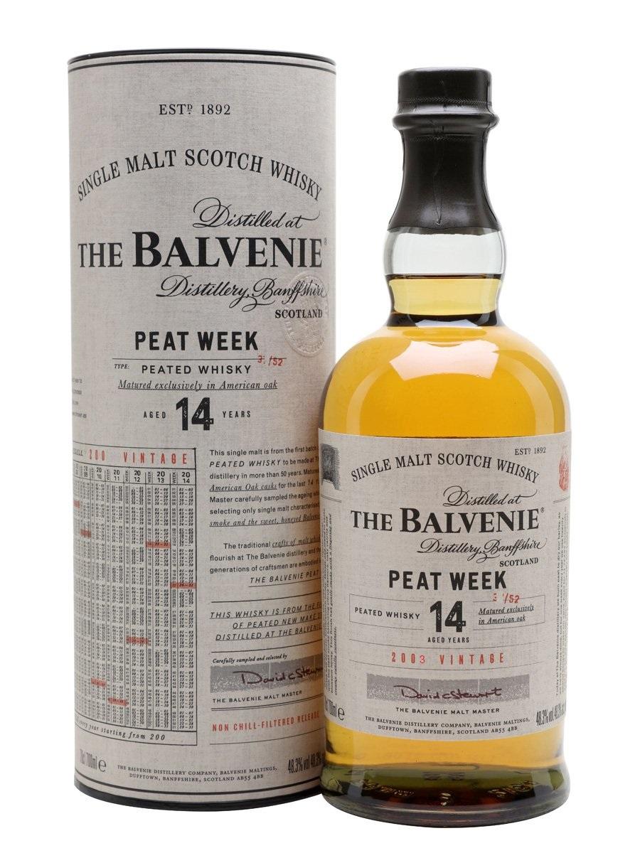 Balvenie Peat Week TUBE