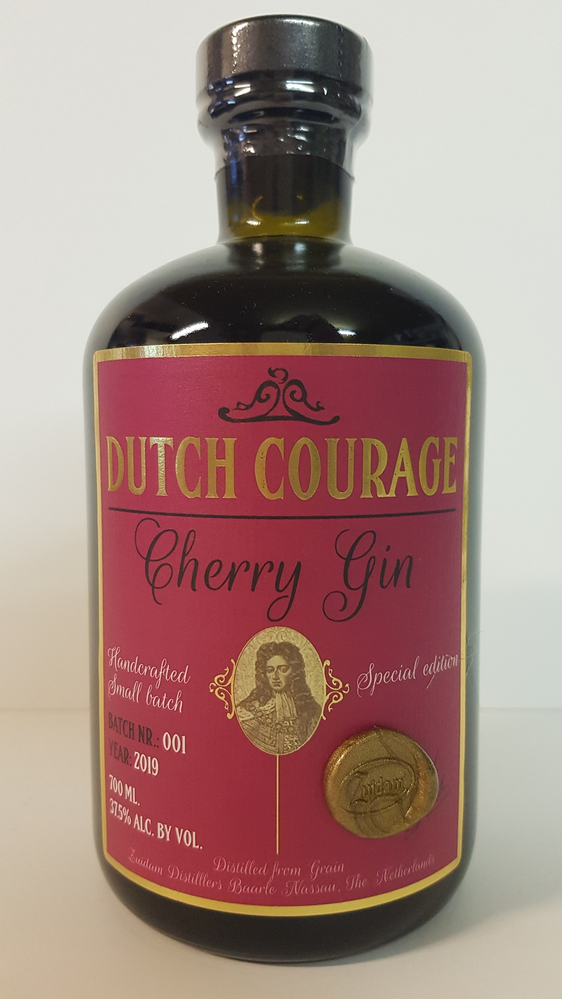 Zuidam Dutch Courage Cherry Gin  NEW