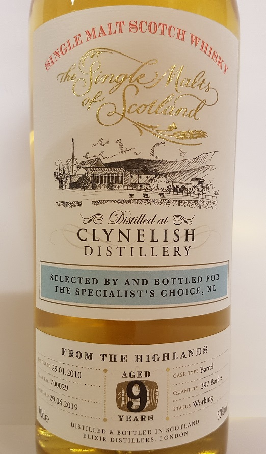 The Single Malts of Scotland Clynelish 9 yrs