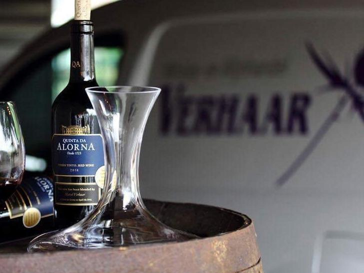 wijn en auto