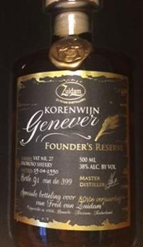 Korenwijn founder's reserve