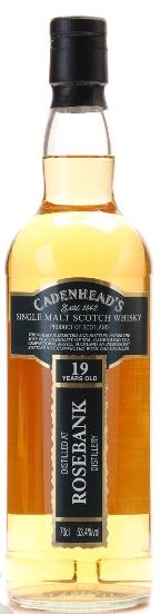 Rosebank cadenhead 19 yrs