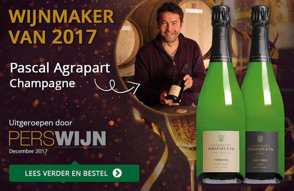 Perswijn Wijnmaker van 2017: Pascal Agrapart