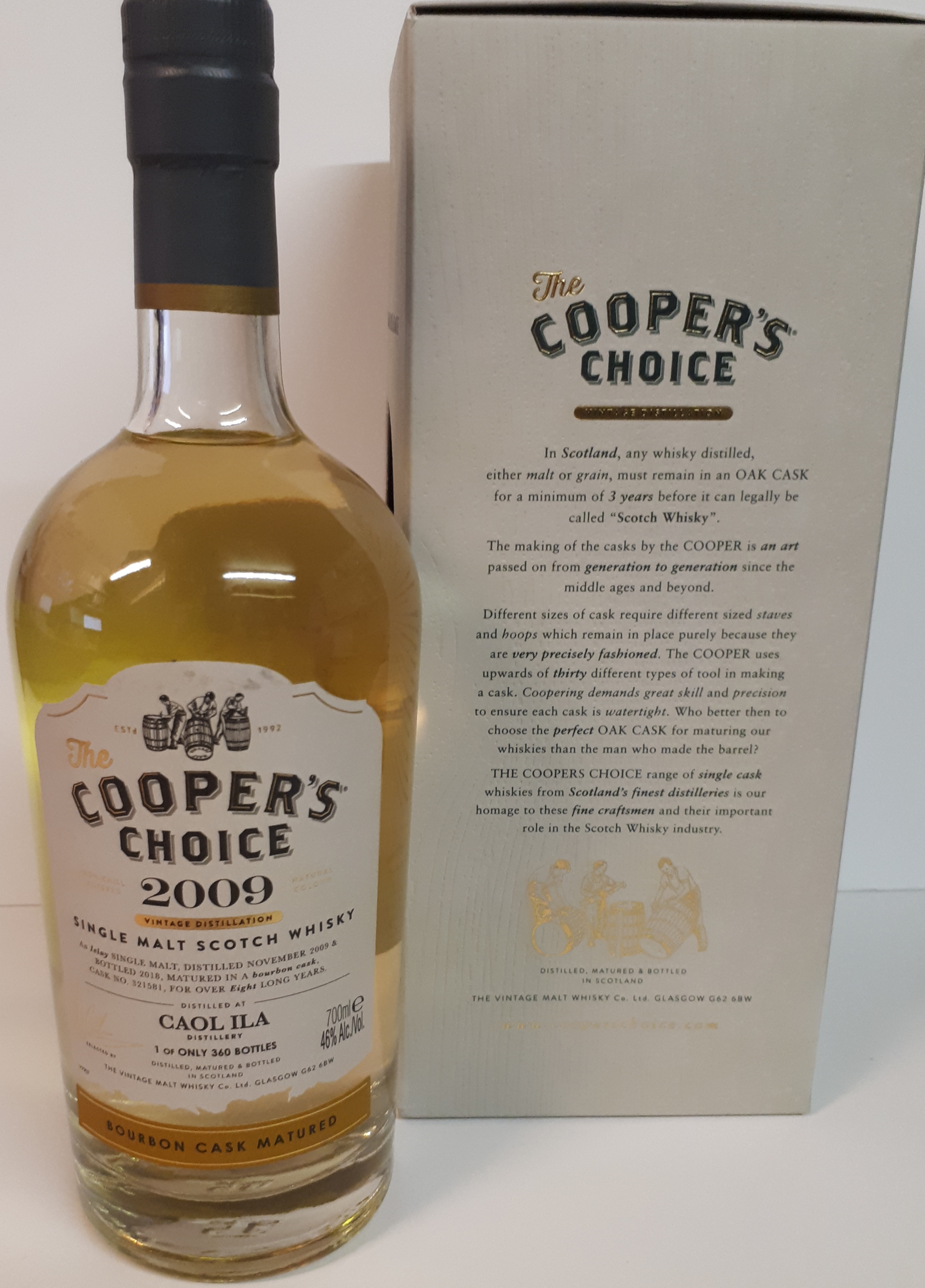 Caol Ila 2009 Coopers Choice
