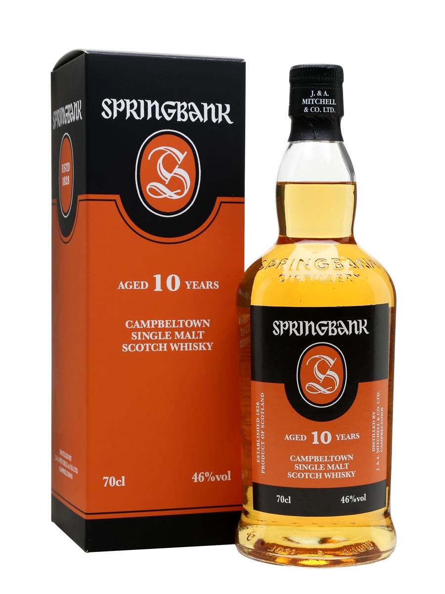 Springbank 10 yrs old