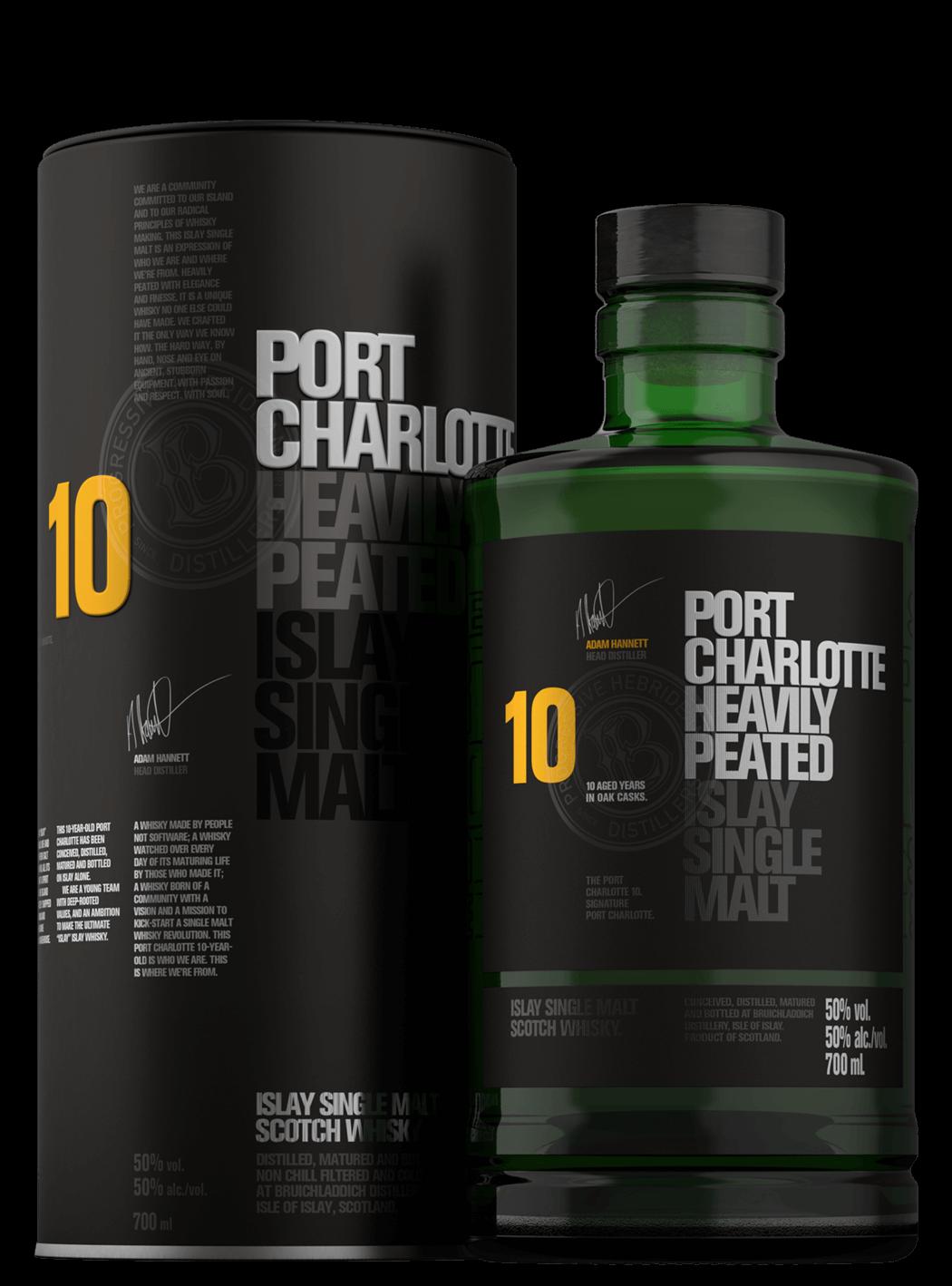 Port Charlotte 10yo Heavily Peated