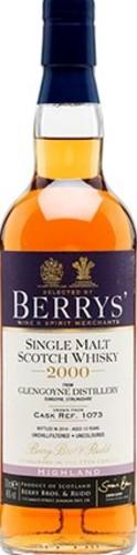 Berry's Glengoyne 13 yrs tube