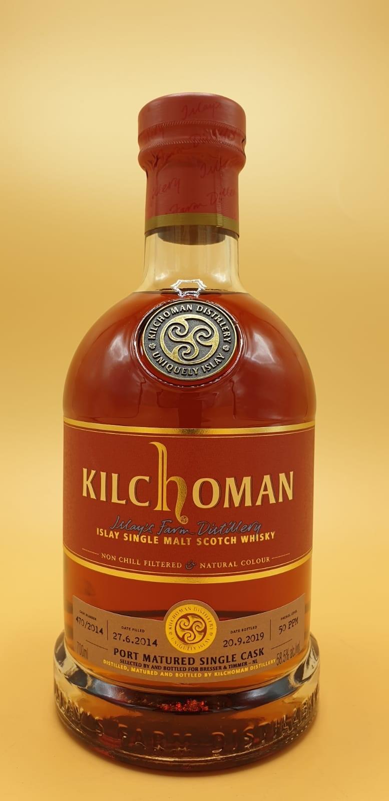 Kilchoman Port Single Cask