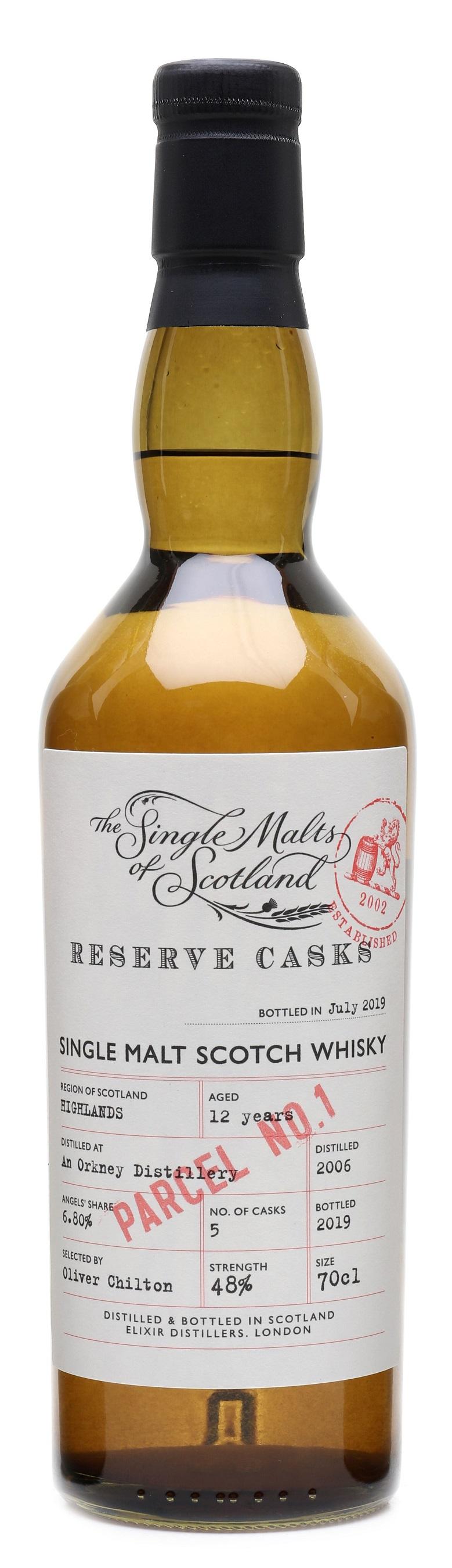 An Orkney Distillery 12 yrs Single Malts of Scotland