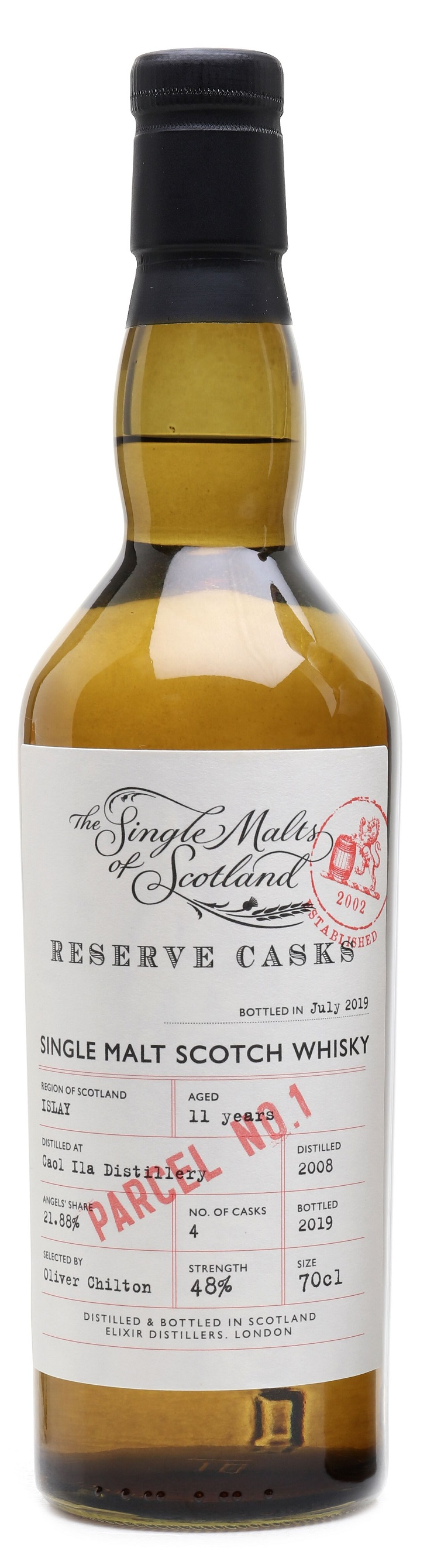 Caol Ila 11 yrs Single Malts of Scotland