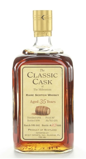 The Classic Cask 1964 35yrs Tube