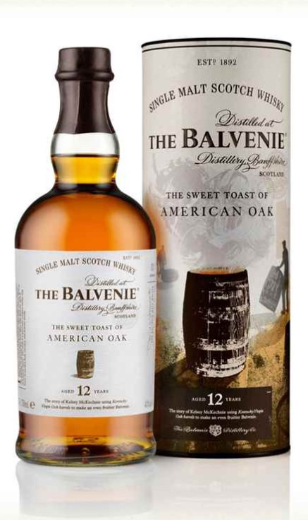 The Balvenie 12yrs American Oak Tube