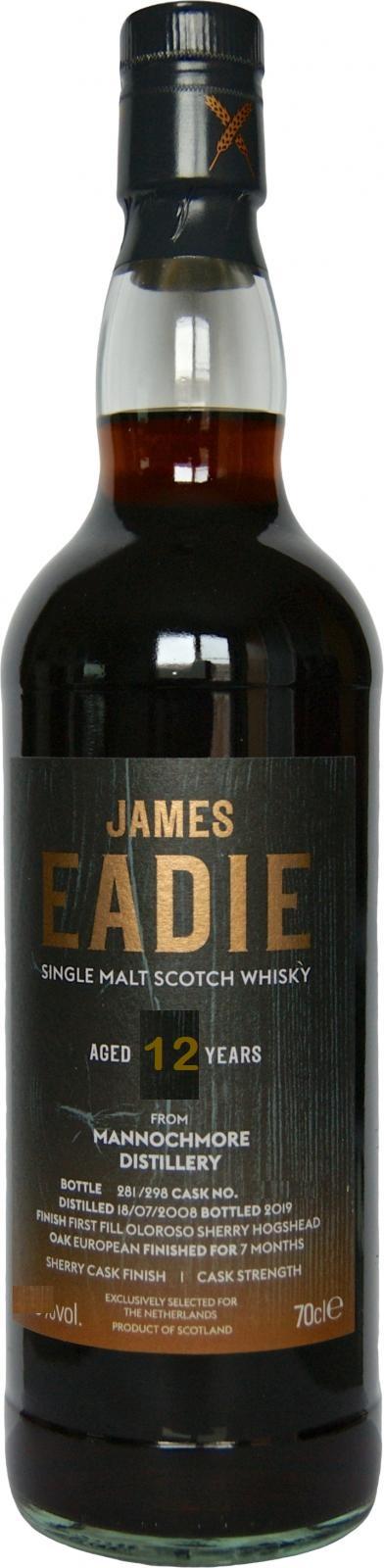 Mannochmore 12 yrs James Eadie