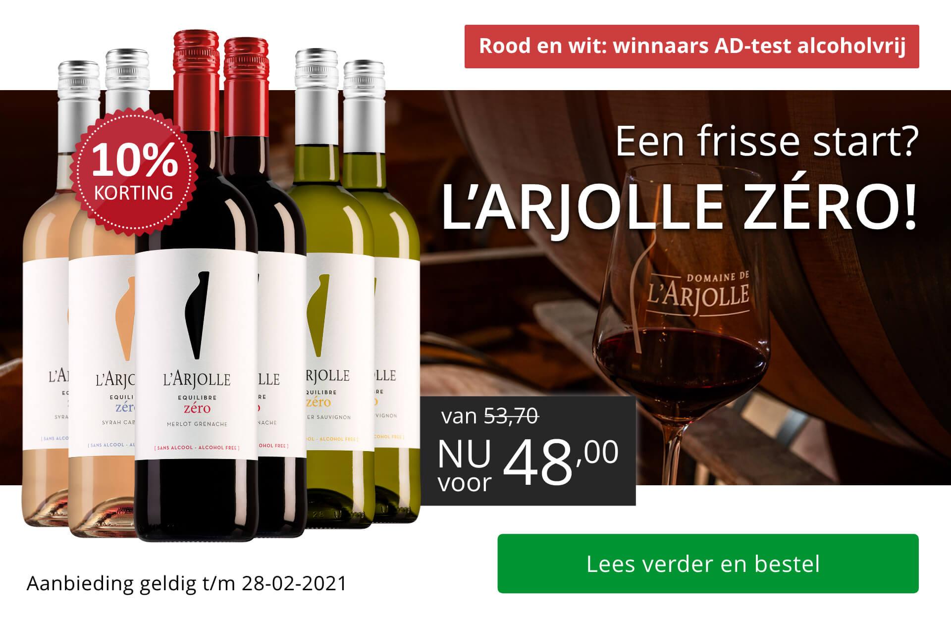 l'Arjolle Zero pakket