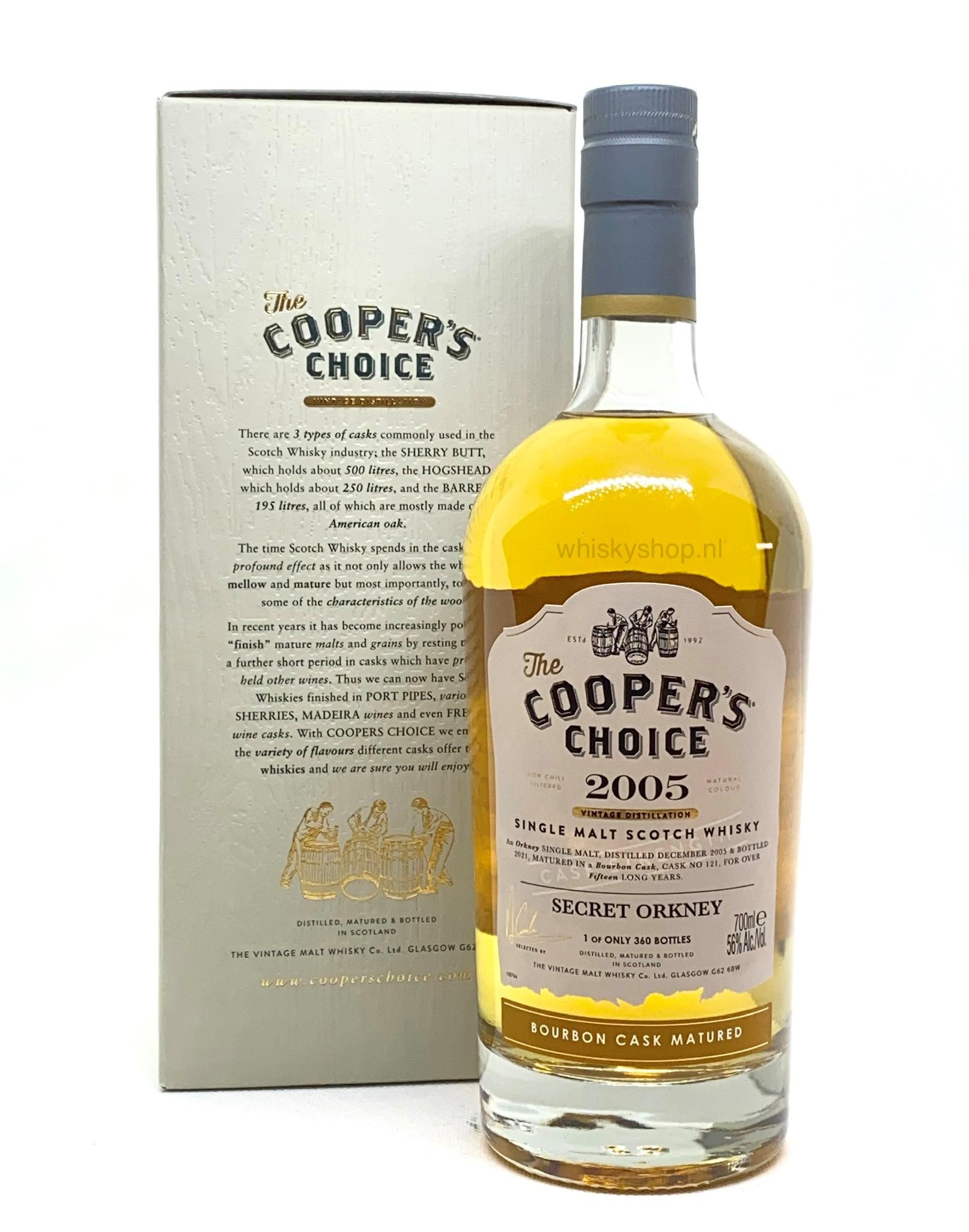 Orkney 2005 Secret Bourbon Cask Matured - Cooper's Choice
