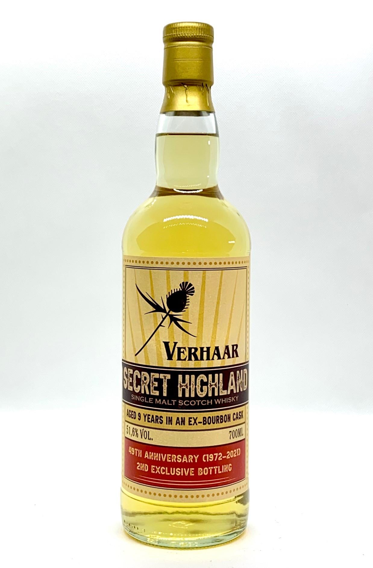 'Secret Highland' - Bottled for Verhaar