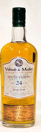 Cambus single grain 24 yrs Valinch & Mallet