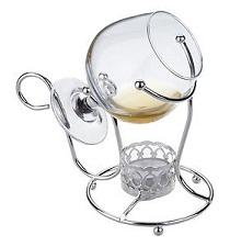 Cognacglas verwarmer
