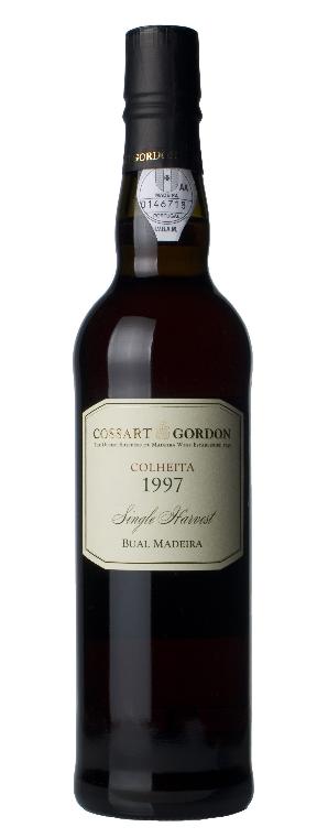 Madeira Cossart Gordon colheita sercial 1997
