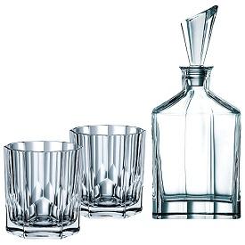 Crystal decanter whisky set