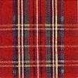 Servetten Schotse ruit rood Cocktail