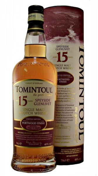 Tomintoul 15 yrs portwood