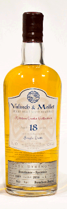 Benrinnes 18 yrs bourbon barrel Valinch & Mallet