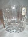 Whisky glas Cristal blok klein
