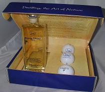 Golf set whisky