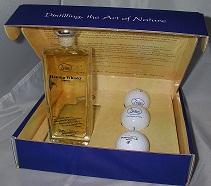 Golf set whisky