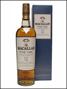 Macallan 12 yrs old Fine Oak Tube