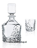 Crystal Decanter whisky Sculpture nachtman