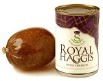 Royal Haggis With Venison