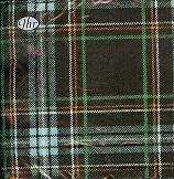 Servetten Schotse ruit Green