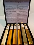 Special selection of 6 Whiskies in glazen tubes