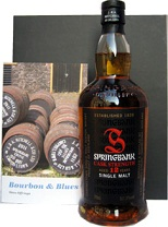 Springbank 12 yrs old + Boek